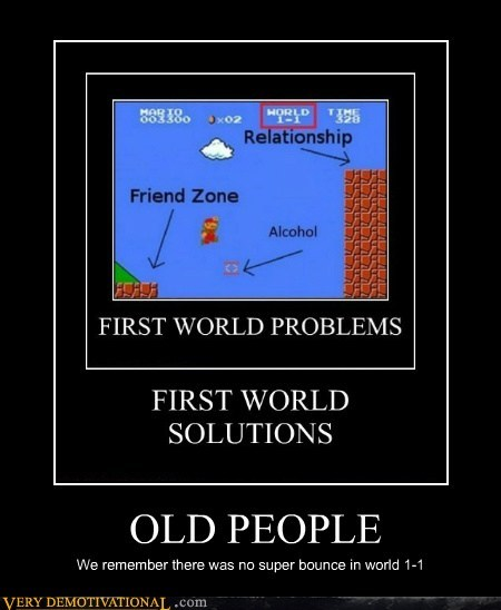 hilarious mario old people video games - 6285709568