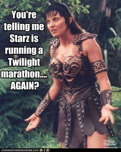 again,bad movies,disgusted,incredulous,Lucy Lawless,marathon,Starz,TV,what the hell,Xena,Xena Warrior Pri,Xena Warrior Princess