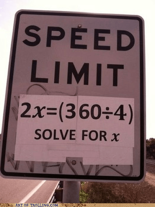 IRL,math,sign,speed limit