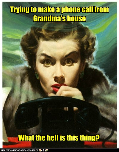 grandma old phone technology woman - 6286403072