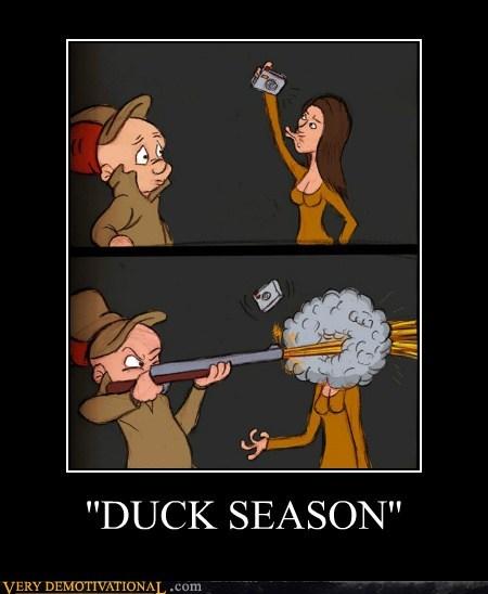 duck season duckface elmer fudd Pure Awesome