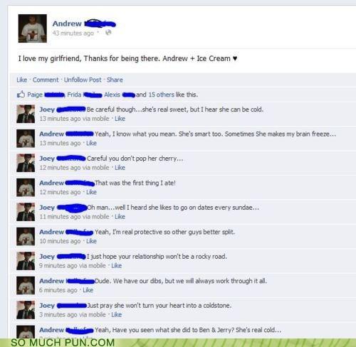 brands conversation facebook girlfriend ice cream status variations on a theme - 6286802944