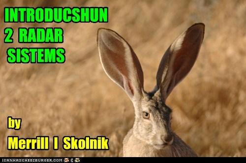 INTRODUCSHUN 2 RADAR SISTEMS Merrill I Skolnik by