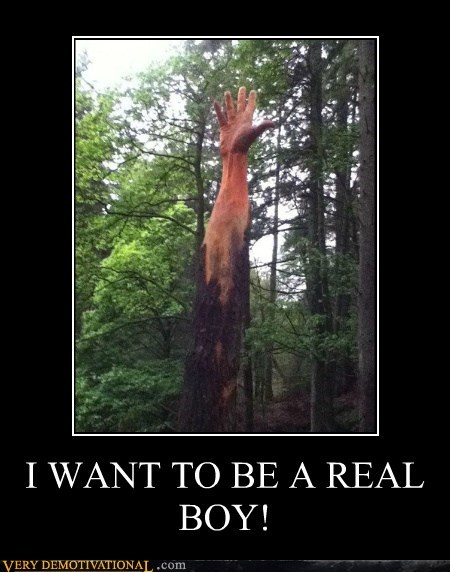Pure Awesome real boy tree wood - 6286832128