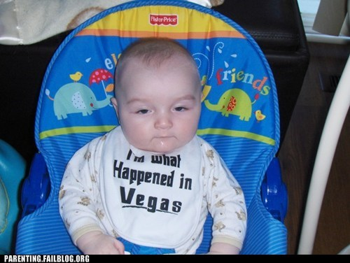 baby baby bib what happens in vegas - 6286851584