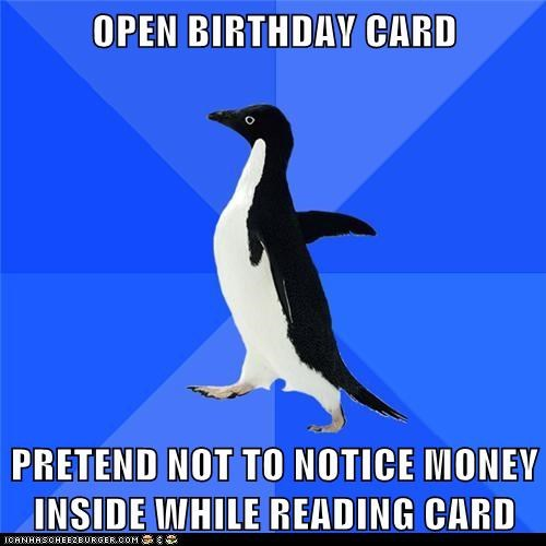 socially awkward socially awkward penguin - 6286898688