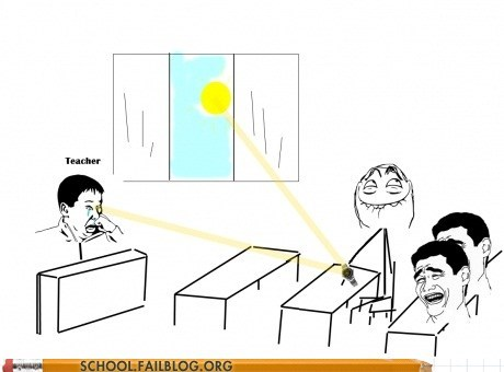 hilarious pranks,reflecting,sunlight,the power of science,the power of science!