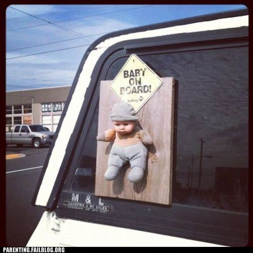 baby on board car literally - 6286913280