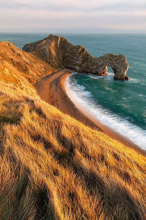 beach coast dunes england ocean - 6287034624