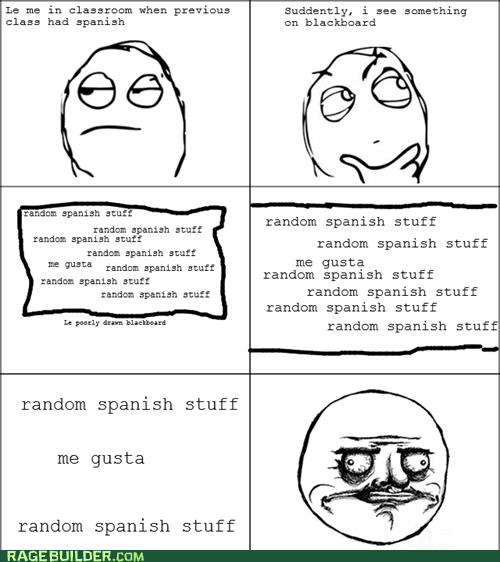 me gusta Rage Comics spanish the title is a lie - 6287173888