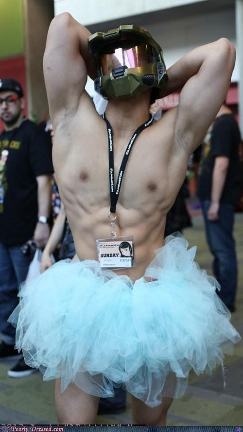 ballerina cosplay costume halo master chief - 6287214592
