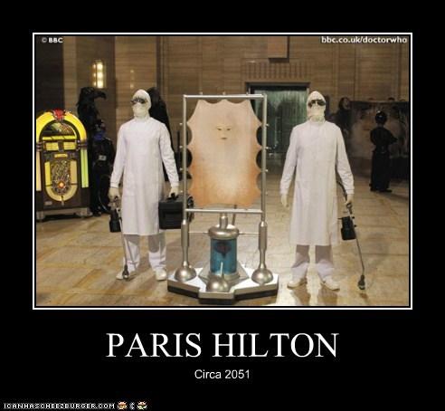 cassandra doctor who future paris hilton plastic surgery skin the end of the world thin - 6287233792