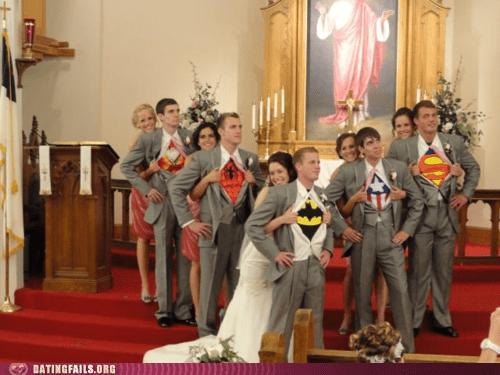 Hall of Fame superheroes weddings - 6287286784