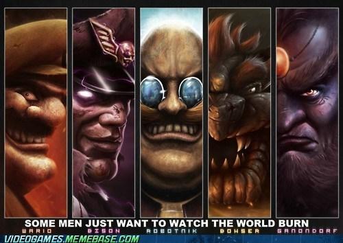 art mario nintendo video games villains - 6287446784