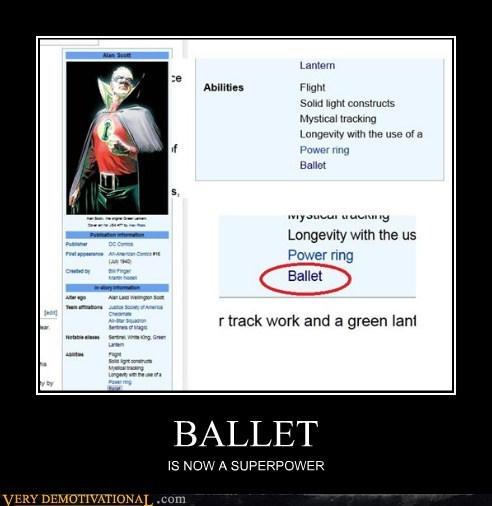 alan scott,ballet,green lanter,hilarious
