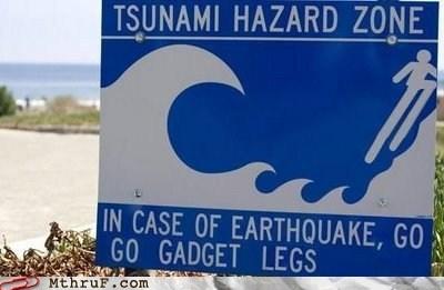 go go gadget,go go gadget legs,Hall of Fame,inspector gadget,Tsunami