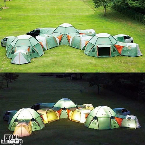 camping fort g rated nature tent win wincation - 6287745792