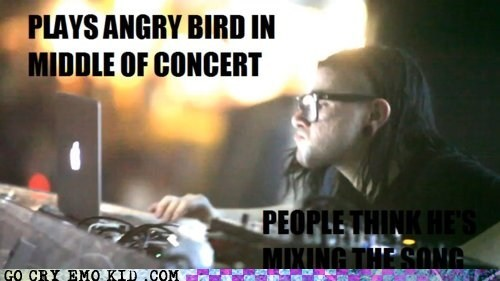 angry birds Music scumbag skrillex weird kid - 6287764224