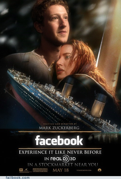 Mark Zuckerberg,Movie,parody,titanic