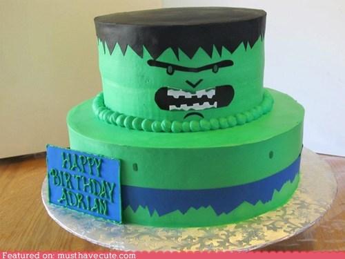 avengers cake epicute green hulk - 6288175104