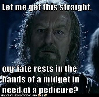 bernard hill,fate,feet,Lord of The Ring,Lord of the Rings,midget,pedicure,Theoden