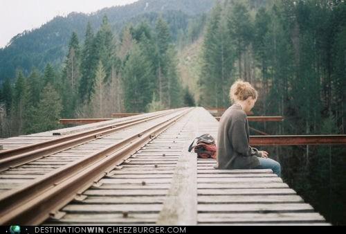 tracks trains transportation
