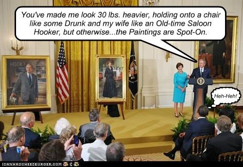 george w bush Laura Bush political pictures portraits Republicans - 6288456704