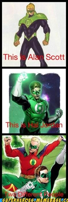 alan scott Green lantern hal jordan Super-Lols - 6288561664