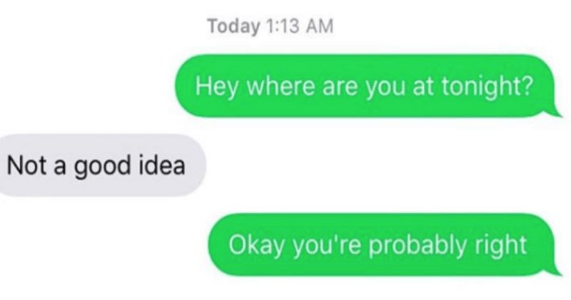Awkward Texts From Exes
