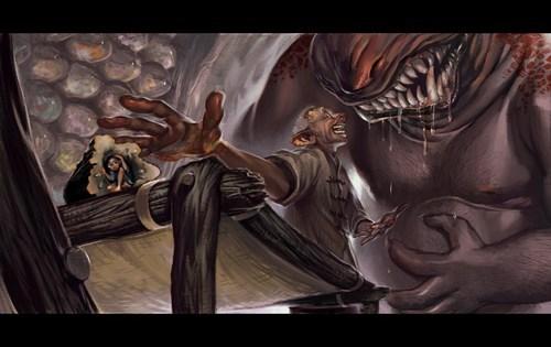 bloodbottler Fan Art roald dahl the bfg - 6289666304