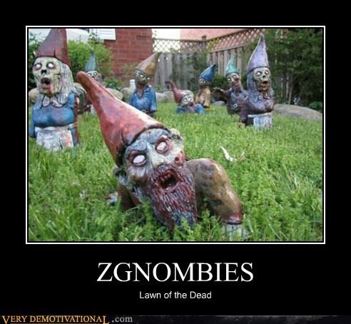 gnomes hilarious lawn zombie - 6289707008