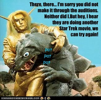 arena audition comfort Gorn star trek sequel there there try again - 6289957888