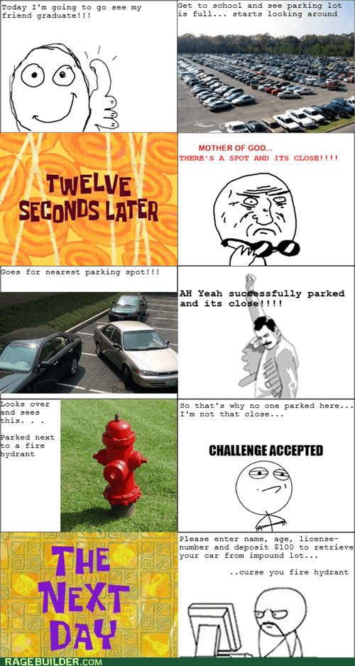 driving,graduation,mother of god,parking,parking ticket,Rage Comics,truancy story