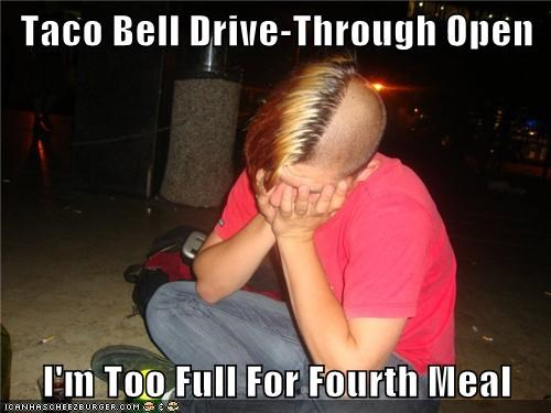 americans drive thru emolulz First World Problems taco bell - 6290262272