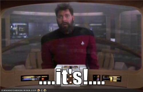 and now for something com,and now for something completely different,its,Jonathan Frakes,monty python,Star Trek,TNG,william riker