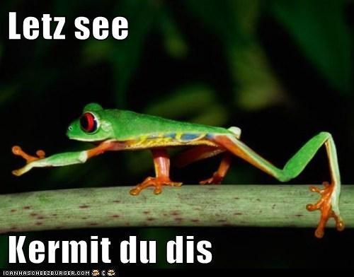 balancing,challenge,climbing,frog,kermit the frog,streaching