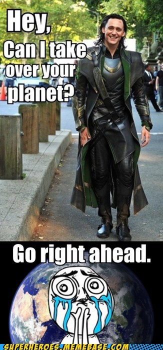 good guy,handsome,loki,superheroes,Super-Lols