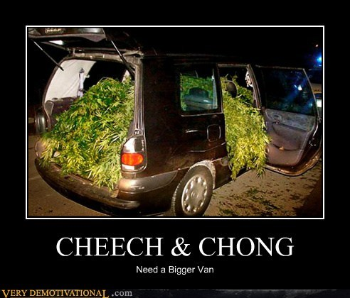 Cheech and Chong drug stuff hilarious van