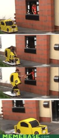cars drive thru food Memes transformers - 6292200704