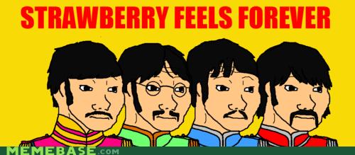 beatles feel Memes strawberry fields - 6292252672