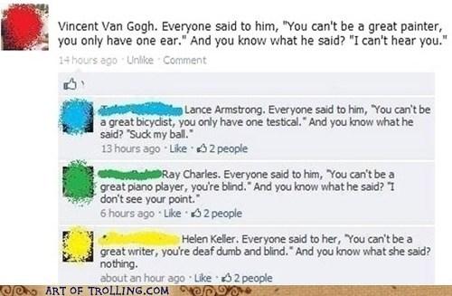 facebook,Hellen Keller,inspiration,mute