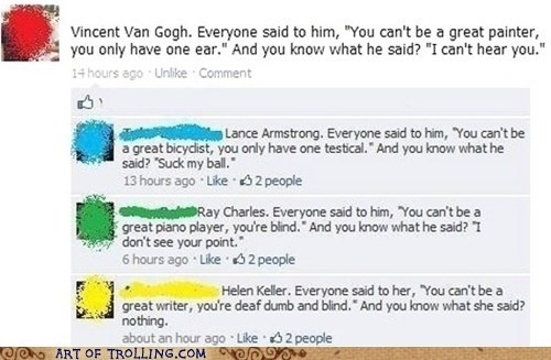 facebook Hellen Keller inspiration mute - 6292572928