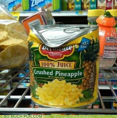 crushed crushed pineapple double meaning Hall of Fame literalism pineapple - 6292840704