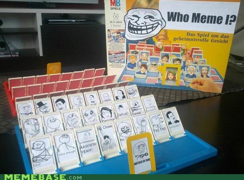 guess who,i need this,Rage Comics,trollface,who meme i
