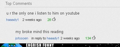 my broke mind this readin yoda youtube youtube comments
