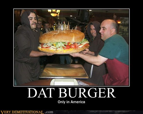 america burger hilarious huge wtf - 6293973760