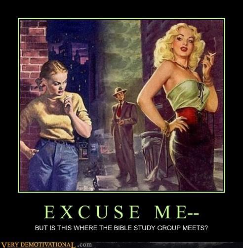 bible excuse me hilarious Sexy Ladies - 6294054656