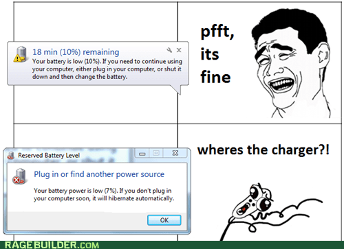 charger laptop omg run Rage Comics - 6294058240