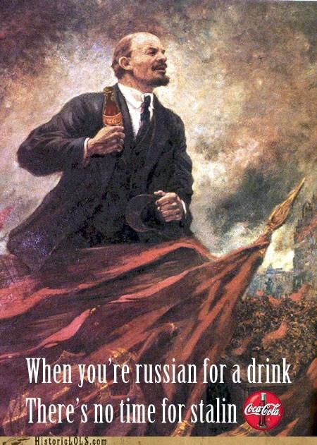 Ad,coke,historic lols,lenin,propaganda