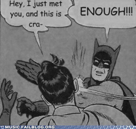 batman,call me maybe,carly rae jepsen